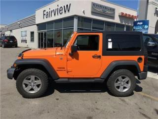Used 2012 Jeep Wrangler Air,,Very Rare Orange Crush for sale in Burlington, ON