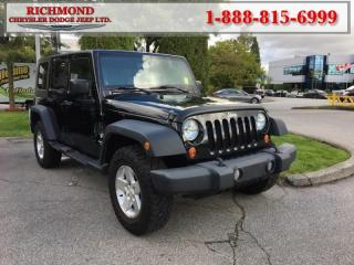 Used 2009 Jeep Wrangler Unlimited X for sale in Richmond, BC