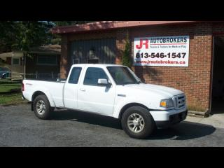 Used 2010 Ford Ranger XLT 4X4 Supercab with Low Kms! for sale in Elginburg, ON