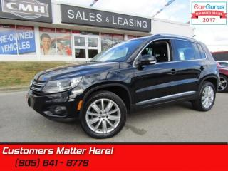 Used 2012 Volkswagen Tiguan 2.0 TSI Highline  AWD, NAVI, ROOF, LEATHER, POWER SEAT for sale in St Catharines, ON
