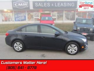 Used 2016 Chevrolet Cruze Limited LT w/1LT  SUNROOF, CAMERA, 7