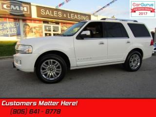 Used 2013 Lincoln Navigator 4X4, NAVIGATION, ROOF, POWER BOARDS, 7 PASS for sale in St Catharines, ON