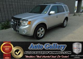 Used 2012 Ford Escape Ltd 4x4 *Lthr/Roof for sale in Winnipeg, MB