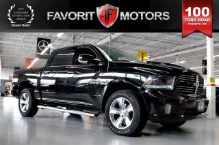 Used 2015 Dodge Ram 1500 Sport HEMI 5.7L 4X4 | LTHR | NAV | BACK-UP CAM for sale in North York, ON