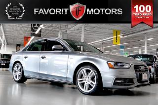 Used 2015 Audi A4 2.0T Technik QUATTRO S Line | NAV | BACK-UP CAMERA for sale in North York, ON