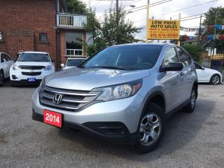 Used 2014 Honda CR-V LX*AllPwrOpti*HtdSeats*Camera&HondaWarranty* for sale in York, ON