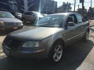 Used 2004 Volkswagen Passat Sedan GLX for sale in Scarborough, ON