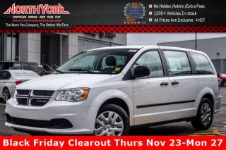 New 2017 Dodge Grand Caravan New Car CVP|7-Seater|TouringSusp.|AC|TractionCtrl|GreatDeal| for sale in Thornhill, ON