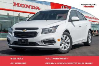 Used 2015 Chevrolet Cruze LT 1LT for sale in Whitby, ON