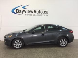 Used 2014 Mazda MAZDA3 GX- SKYACTIV! AUTO! A/C! BLUETOOTH! ZOOM ZOOM! for sale in Belleville, ON