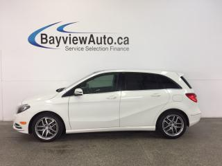 Used 2013 Mercedes B250 - PANOROOF! HTD LEATHER! BLUETOOTH! for sale in Belleville, ON