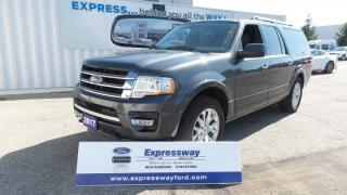 Used 2017 Ford Expedition Max Limited, Loaded, only 8500kms! for sale in Stratford, ON