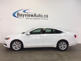 Used 2017 Chevrolet Impala LT- 2.5L! DUAL CLIMATE! REV CAM! MY LINK! CRUISE! for sale in Belleville, ON