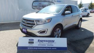 Used 2017 Ford Edge SEL, AWD, V6, Lthr, Pano Roof, Navi for sale in Stratford, ON