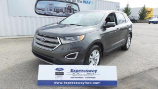 Used 2016 Ford Edge SEL AWD 3.5L V6 290Hp, Moon, Navi for sale in Stratford, ON