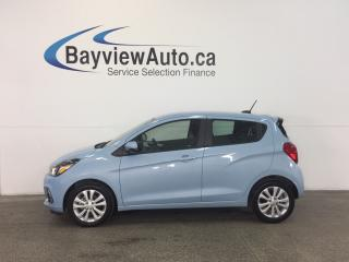 Used 2016 Chevrolet Spark LT- TURBO! A/C! REVERSE CAM! CRUISE! MY LINK! for sale in Belleville, ON