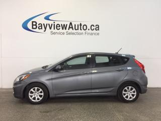 Used 2014 Hyundai Accent - 1.6L! AUTO! HEATED SEATS! BLUETOOTH! CRUISE! for sale in Belleville, ON