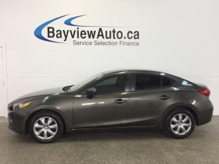 Used 2015 Mazda MAZDA3 GX- SKYACTIV! AUTO! TINT! A/C! BLUETOOTH! for sale in Belleville, ON