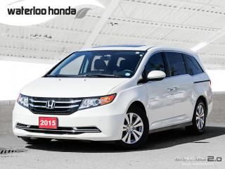 Used 2015 Honda Odyssey EX-L Back Up Camera, Navigation, Leather and More!!! for sale in Waterloo, ON