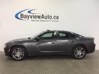 Used 2016 Dodge Charger SXT- AWD! ROOF! HTD LTHR! NAV! BEATS! BSA! for sale in Belleville, ON