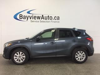 Used 2013 Mazda CX-5 GX- SKYACTIV! PUSH BTN STRT! A/C! BLUETOOTH! for sale in Belleville, ON