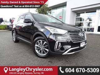 Used 2017 Hyundai Santa Fe XL Luxury *ACCIDENT FREE*ONE OWNER*LOCAL BC CAR* for sale in Surrey, BC