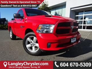 Used 2015 Dodge Ram 1500 ST *ONE OWNER*ACCIDENT FREE*LOCAL BC TRUCK* for sale in Surrey, BC