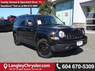 Used 2016 Jeep Patriot Sport/North *ACCIDENT FREE * LOCAL BC CAR * for sale in Surrey, BC