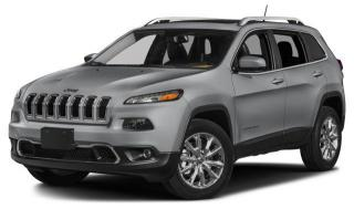 New 2017 Jeep Cherokee Limited for sale in Abbotsford, BC