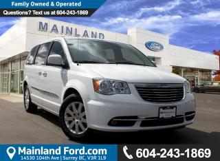 Used 2015 Chrysler Town & Country Touring NO ACCIDENTS for sale in Surrey, BC