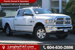 Used 2016 Dodge Ram 2500 Longhorn NO ACCIDENTS! for sale in Surrey, BC