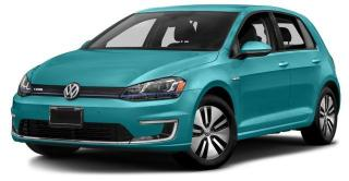New 2017 Volkswagen e-Golf Comfortline for sale in Surrey, BC