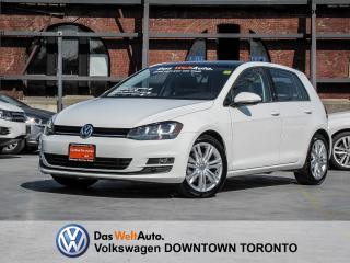 Used 2015 Volkswagen Golf HIGHLINE TDI MULTIMEDIA for sale in Toronto, ON