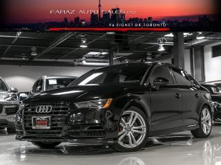Used 2016 Audi S3 TECHNIK NAV B&O REAR CAM B.SPOT LOADED for sale in North York, ON