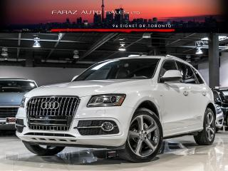 Used 2015 Audi Q5 3.0T V6|S-LINE|TECHNIK|NAVI|B.SPOT|REAR CAM|PUSHSTART|WIDE BODY for sale in North York, ON