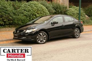 Used 2015 Honda Civic EX + LOW KMS + NO ACCIDENT + SUNROOF + CERTIFIED! for sale in Vancouver, BC