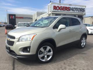 Used 2014 Chevrolet Trax LTZ AWD - LEATHER - SUNROOF - REVERSE CAM for sale in Oakville, ON