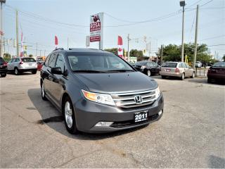 Used 2011 Honda Odyssey AUTO TOURING FAMILY VAN 5DR 8 PASSENGER 3 RD SUNRO for sale in Oakville, ON