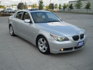 Used 2007 BMW 525i Automatic, Mint, Mint, Leather, Sunroof, 3/Y warra for sale in North York, ON