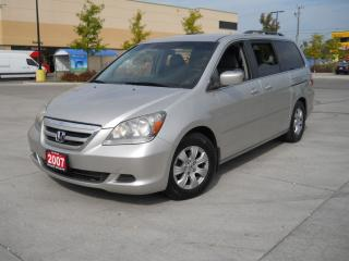 Used 2007 Honda Odyssey 8 passanger, Automatic, 3 years warranty availabl for sale in North York, ON