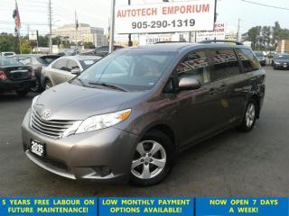 Used 2015 Toyota Sienna LE 8 Pass. Camera/Pwr Doors/Htd Seats &GPS* for sale in Mississauga, ON