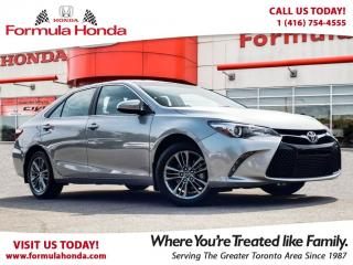 Used 2017 Toyota Camry SE | REAR-VIEW CAMERA | GREAT VALUE! for sale in Scarborough, ON