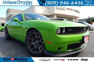Used 2017 Dodge Challenger CHALLENGER R/T 392 - GREEN GO COLOR for sale in Burlington, ON
