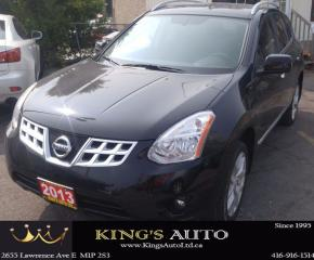 Used 2013 Nissan Rogue SV, AWD, NAVI, SUNROOF, BACK UP CAM for sale in Scarborough, ON