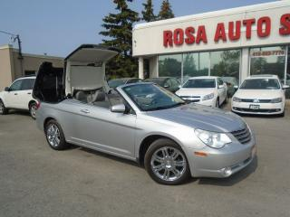 Used 2008 Chrysler Sebring LimitedCONVERTIBLE  NAVIG AUX LEATHER HEATED SEATS for sale in Oakville, ON