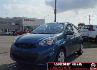 Used 2015 Nissan Micra SV  Camera Bluetooth Cruise A/C  for sale in Scarborough, ON