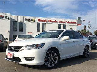 Used 2013 Honda Accord Sedan Sport  | 1.99% Financiing for sale in Mississauga, ON