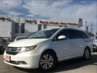 Used 2015 Honda Odyssey EX-L w/RES -  Leather - DVD - Sunroof for sale in Mississauga, ON