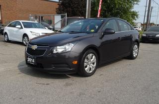 Used 2014 Chevrolet Cruze 1LT.One Owner.Low Kms. Well Maintained. for sale in Brampton, ON