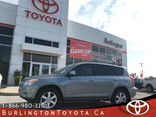 Used 2008 Toyota RAV4 LIMITED  for sale in Burlington, ON
